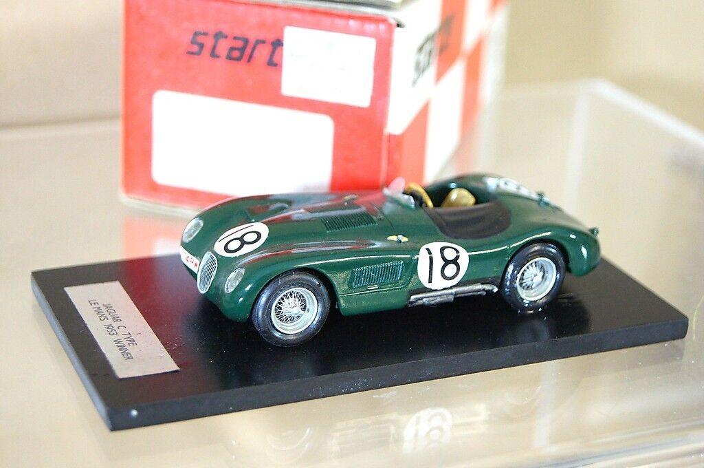 STARTER MODELS 005 1953 JAGUAR C C C TYPE LE MANS 1st Car No 18 ROLT HAMILTON mv d93996