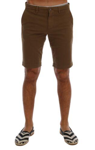 Cotone Marrone Shorts Ginocchia Gabbana Dolce S Nuovo it58 Above Elasticizzato wIqZPZf