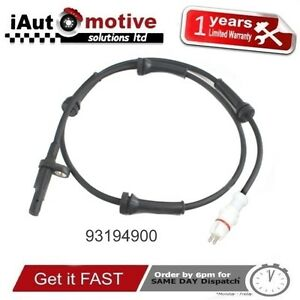 VAUXHALL-VIVARO-RENAULT-TRAFFIC-REAR-ABS-WHEEL-SPEED-SENSOR-93194900-OPEL