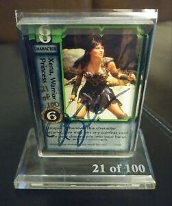 Lucy Lawless Renee O'Conner Autograph