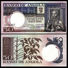 , 1973 , UNC Angola , P105 , pick 105 , 50-ESC