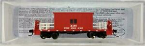 Great-Northern-Short-Roof-Transfer-Caboose-X179-N-Bluford-Shops-24420