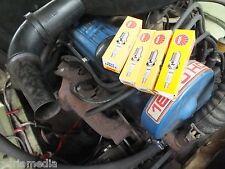 4x ZÜNDKERZE NGK SET für 4Zylinder-Motoren Ford Taunus Knudsen 1971-1975 1,3 1,6