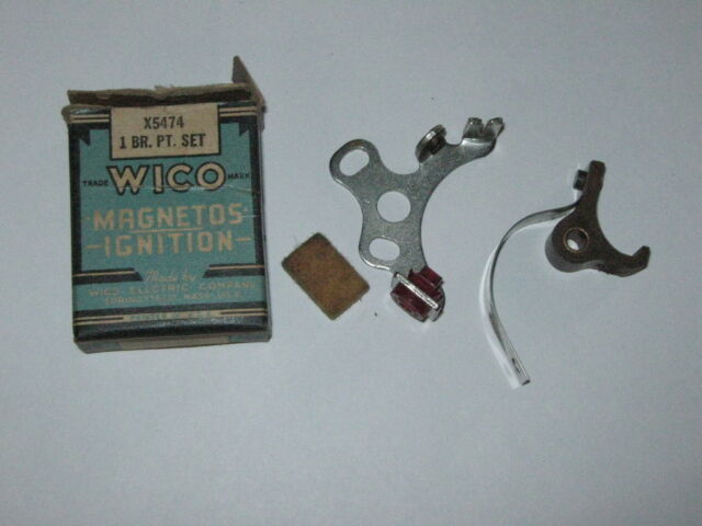 Genuine Wico Gas Engine Ignition Contact Point Set X11247 NEW OLD STOCK