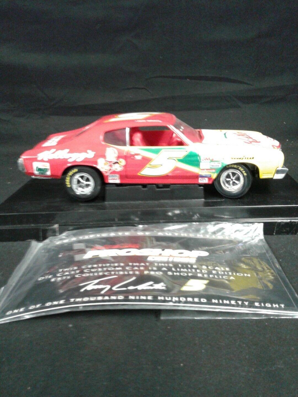 ERTL  DIECAST PROSHOP 1 18 1970 70 CHEVY CHEVELLE KELLOGGS LABONTE NASCAR