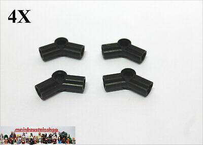 4X Lego® 32192 Technic Winkel-Verbinder Connector Nr.4 Schwarz Black