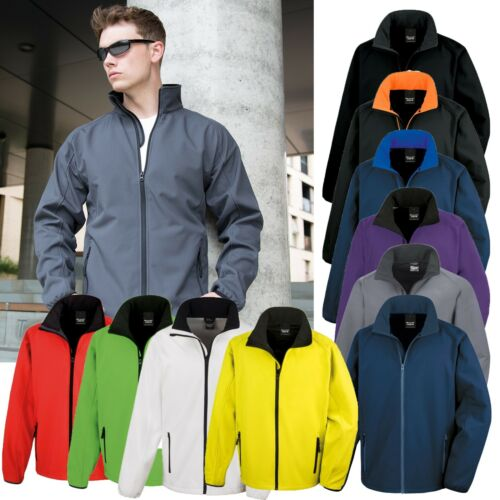 Result Softshell Veste Doublure Polaire Extra Chaud Hiver Coupe-vent Homme S-4XL