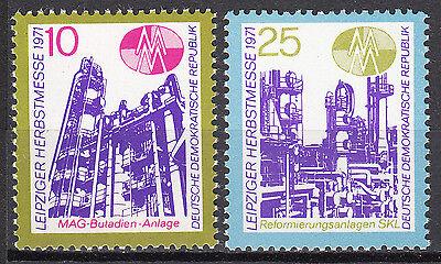 Nr Nett Ddr 1971 Mi 1700-1701 Postfrisch ** Mnh Offensichtlicher Effekt