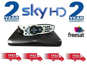 SKY-HD-Digibox-amp-Remote-Latest-Slimline-DRX-595-FREESAT-2-Year-Warranty