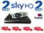 SKY-HD-Digibox-amp-Remote-Latest-Slimline-DRX-595-FREESAT-2-Year-Warranty miniatura 1