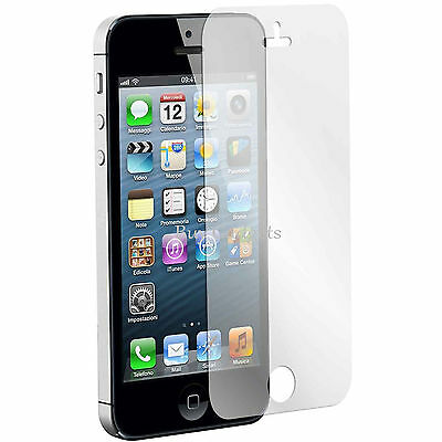 10 x APPLE IPHONE 5 5C 5S CLEAR FRONT SCREEN PROTECTOR LCD FILM FOIL GUARD