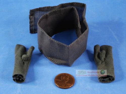 Figur 1//6 WW2 Deutsche INFANTRY LAH PANZERGRENADIER Hand Gloves Scarf FH/_4C/_4D