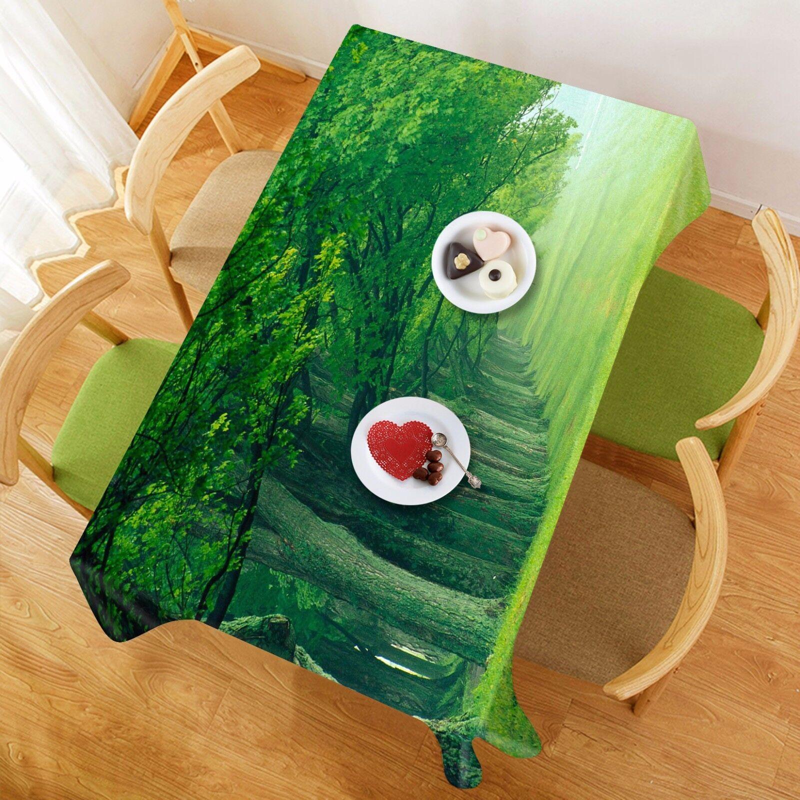 3D Bois 8970 Nappe Table Cover Cloth Fête D'Anniversaire événement AJ papier peint UK