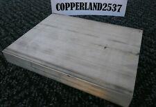 375 X 8 X 12 Long New 6061 T6 Solid Aluminum Plate Flat Bar Stock Block 38