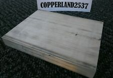 1 X 6 X 8 Long New 6061 T6511 Solid Aluminum Plate Flat Bar Stock Mill Block