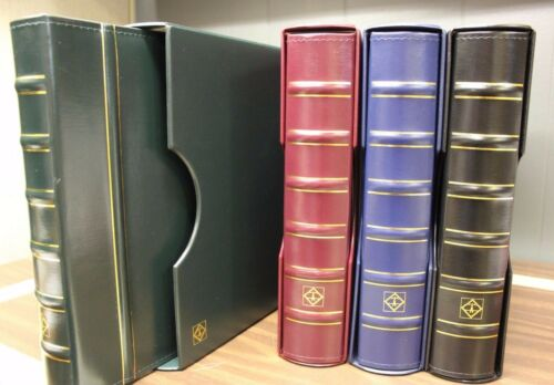 Coin Holder Slab Album Grande NGC PCGS 4 ENCAP Page BLACK Storage Case Book