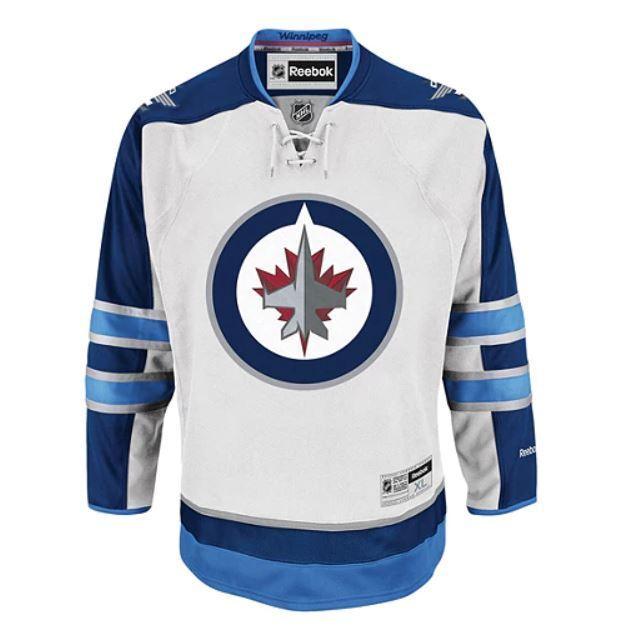 REEBOK Winnipeg Jets Premier Jersey Away - Senior