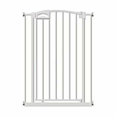 Callowesse® Freedom Stair Gate New Unique Magnetic Two-Lock System 76-83cm