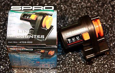 SPRO Schnurzähler Line Counter 0-999m Meter Tiefenmesser für die Angelrute OVP
