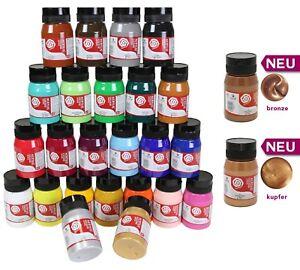 ARTIST Künstler- Acrylfarbe 500 ml hochpigmentierte Top-Qualität Acryl 24 Farben