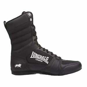 Lonsdale Da Uomo Contender Boxe Stivali Lacci Completo Scarpe Sportive Calzature Scarpe Da Ginnastica