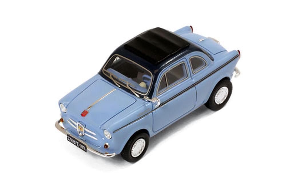 Premium-X 1 43  Pr0020 Nsu-Fiat Weinsberg 500 (1960 ), blue Claro blue Oscuro