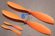 """4pcs 4x8"""" ø1.4mm Rubber Band Powered Plane Air Plane Propellers, US 001-01004"""