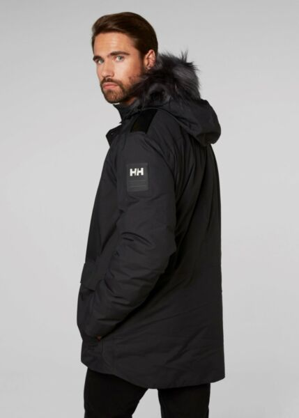 b68091883be Helly Hansen Mens Svalbard Waterproof Parka XL Black 53150 990-xl for sale  online | eBay