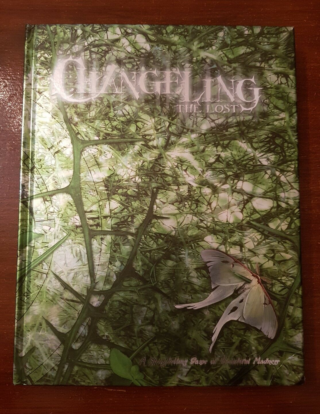 CHANGELING THE LOST - HARDBACK RARE WHITE WOLF WORLD OF DARKNESS RPG ROLEPLAYING