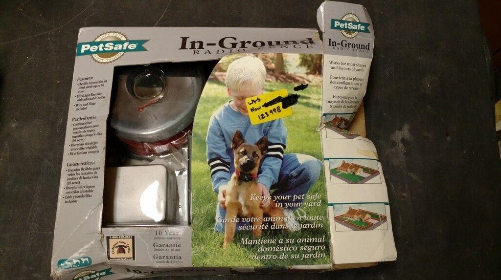 New Petsafe Standard Radio Radio Radio In-Ground Pet Dog Fence Kit Pet Safe RF-3004W-11 7e38e9