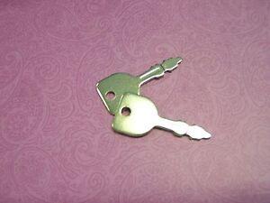 Original Satz Zündschlüssel (2 Stück) Efco Aufsitzmäher ab Baujahr 2010