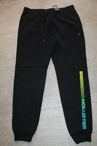 crazy price detailing well known Détails sur Hollister Homme Pantalons de Survêtement Jogginghose Noir Jaune
