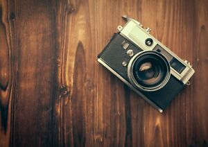 A3-Retro-Camera-Poster-Size-A3-Photography-Vintage-Men-039-s-Poster-Gift-14518