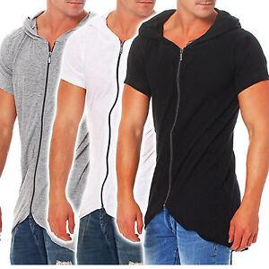 redbridge herren oversize t shirt mit kapuze long tee. Black Bedroom Furniture Sets. Home Design Ideas