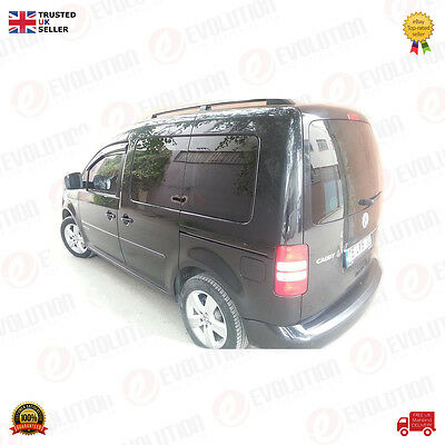 BRAND NEW VW VOLKSWAGEN CADDY WIND / SMOKE / RAIN DEFLECTORS 2003 ON RH + LH
