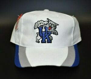 Kentucky-Wildcats-Twins-Enterprise-Vintage-90s-Snapback-Cap-Hat-NWT