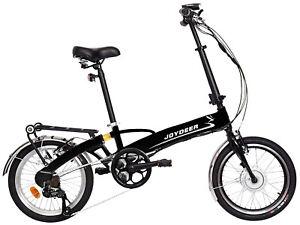 Joydeer-20-034-innovatives-Elektro-Fahrrad-Klapprad-Pedelec-ebike-TUV-schwarz