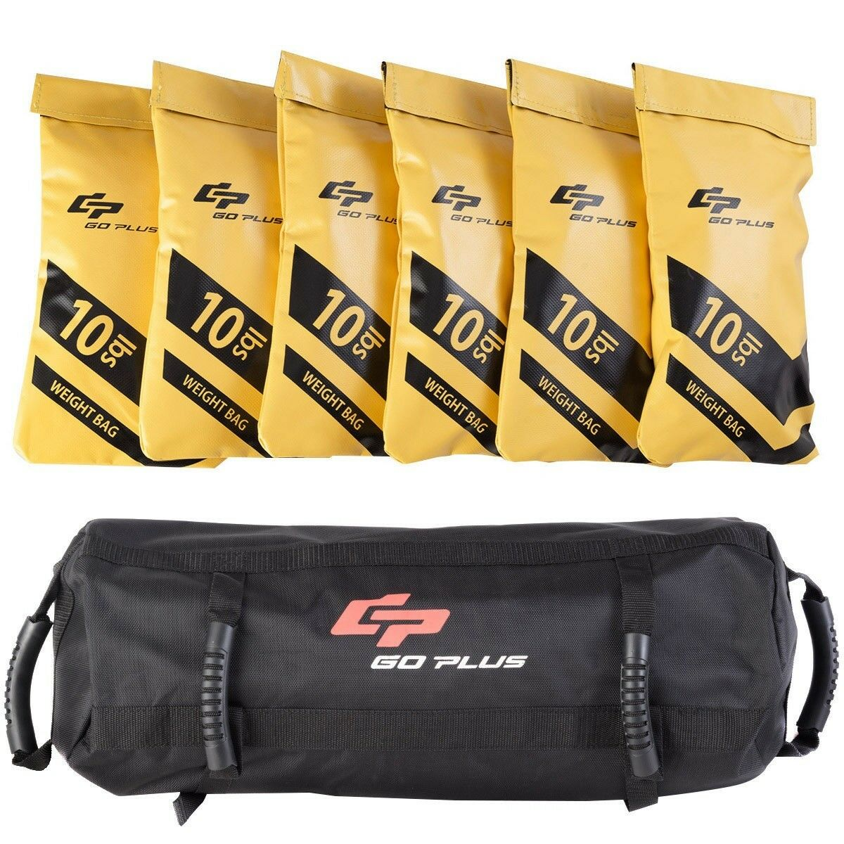 20 40 60lbs Goplus Fitness Exercise Weighted Sandbags Sport Weight Training Set