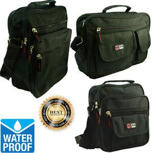 Waterproof-Business-Crossbody-Briefcase-Messenger-Black-Shoulder-Satchel-Bags