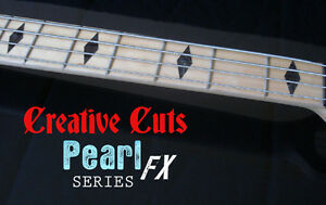 Diamond-BLACK-PEARL-Fretboard-Markers-Inlay-Sticker-Decals-for-Maple-Neck-BASS