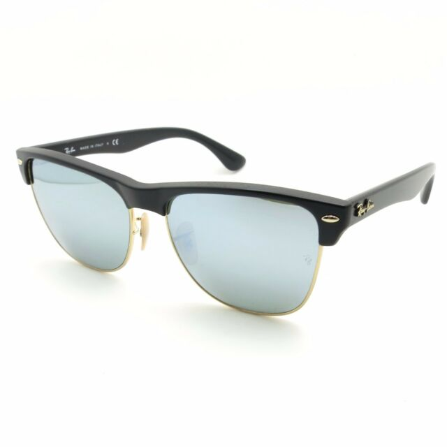 ef35b4fe34 Ray Ban 4175 877 30 Matte Demi Black Silver Mirror New Authentic Italy