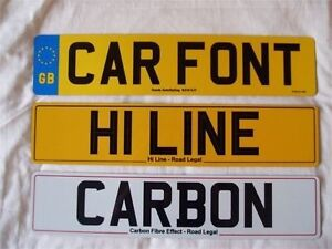 New-amp-Replacement-Car-Number-Plates-Show-Plates-Registration-Plates-FAST-P-amp-P