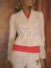 $3498 RALPH LAUREN Collection Purple Label White Embroidered Sailor Jacket 10