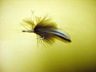 12 Rust Bunny Sz 1//0 Tarpon SALTWATER FLIES Hank Roberts Premier 32011