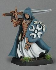 Sir Brannor Crusaders Cpt Reaper Miniatures Warlord RPG Paladin Fighter Melee