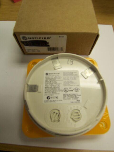 NEW NOTIFIER LPX-751L LASER VIEW SMOKE DETECTOR HEAD