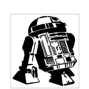 Window Car Decal//Sticker R2D2 STAR WARS 5/""