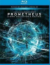 Prometheus 3D Blu-Ray+2D Blu-Ray (3 Disc Set) No DVD Brand New