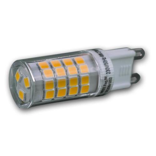 4w 270lm mini lápiz zócalo lámpara pera LED lápiz zócalo bombilla g9 blanco cálido