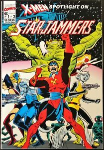 Marvel Spotlight on Starjammers #1-2 (1990) - NM or Better Grade